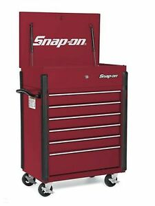 SNAP ON stand up tool box still under warranty not a mark on it