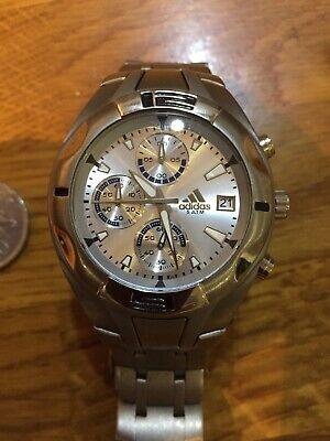 Addidas Titanium Chronograph Watch