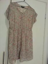 PORTMANS button down A-line shirt-dress in ditsy floral, size 12 Campbelltown Campbelltown Area Preview