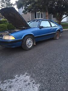 1988 ford mustang 5.0 5 speed parting out