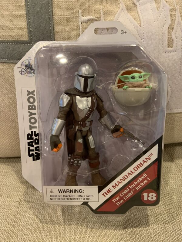 Disney Store Star Wars Toybox The Mandalorian & Child Baby Yoda #18 Toy Box