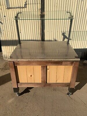 Mobile Marco Produce Euro Table Grocery Store Food Display Fruit Vegetable Stand