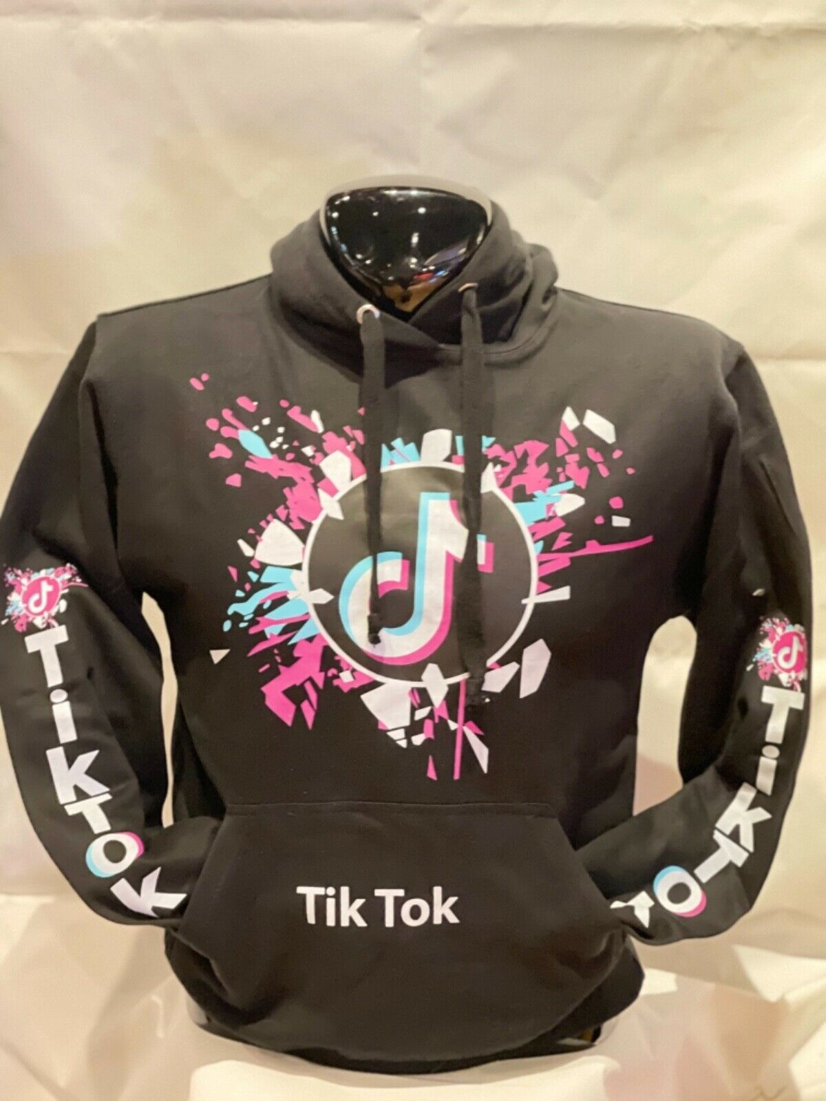 TikTok Hoodie/For TikTok users/TikTok Hooded Pullover/Adult