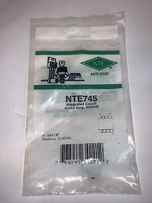 Nte745 - Integrated Circuit Audio Amplifier 500mw