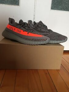 Deadstock pair of Adidas yeezy boost v2 beluga bb 1826 size 9.5