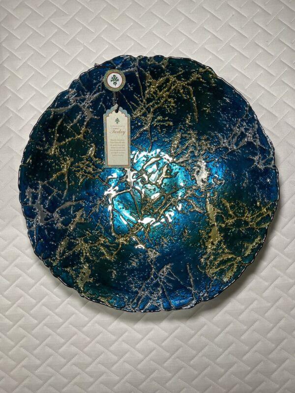 Turkish Handcraft Centerpiece Vtg Art