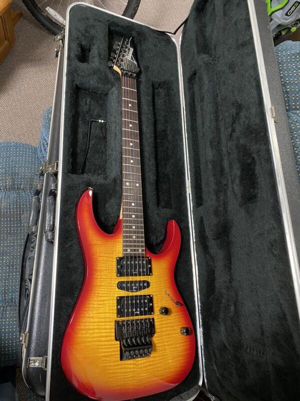 Rare Ibanez Rg570fm - Made in Japan Original Case