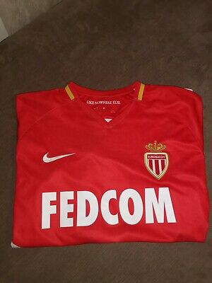 AS Monaco Home Football Shirt 2017/2018 - Falcao 9 - Large Replica image