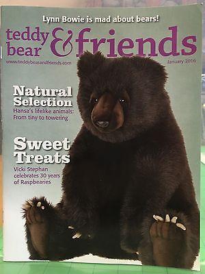 Teddy Bear And Friends Magazine January 2016
