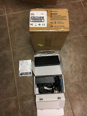 KENSINGTON COMPUTER K38231WW SD4600P USB-C UNIVERSAL DOCK WITH POWER Lot of 5