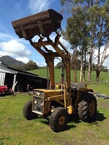 MF front end loader Geeveston Huon Valley Preview