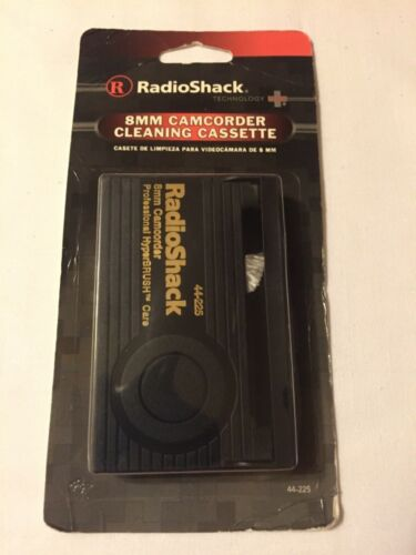 8mm camcorder cleaning cassette Radio Shack NIP Old Stock
