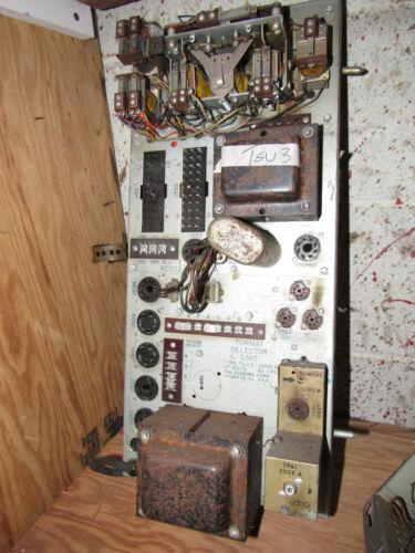 Tormat Selector unit; TSU3 for a Seeburg Jukebox