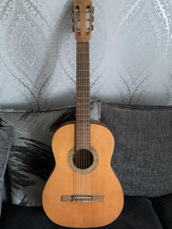 Vintage 1966 German Herbert Schaffner Classical Meifter Guitar