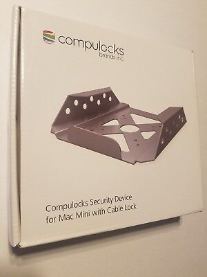 New Maclocks Mac Mini Security Mount Enclosure (MMEN76) With cable lock