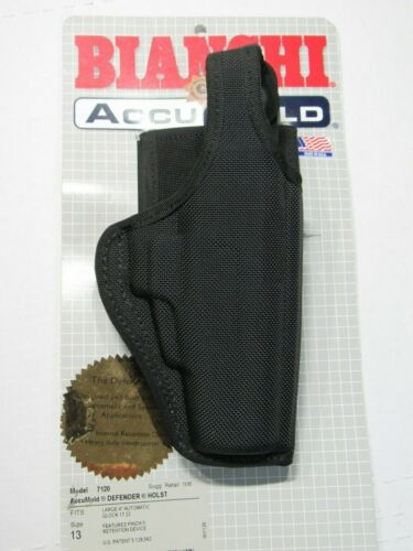 BIANCHI Model 7120 AccuMold Defender Holster Size 13 Right Hand