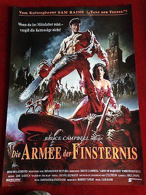 Die Armee der Finsternis Kinoplakat Poster A1 Bruce Campbell Evil Dead