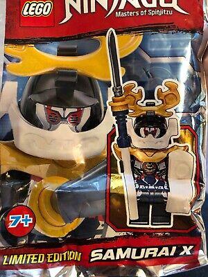 Lego Ninjago Samurai X Mini Figure Polybag
