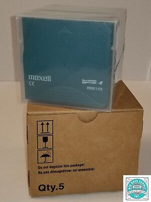 Maxell LTO-4 Data Tape Media P/N 183906 (1 PC)