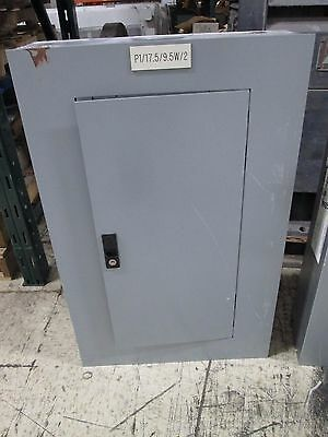Ge Main Circuit Breaker Panel Aqf3181at 125a 208y120v 3ph 4w Used