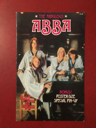 The Fabulous ABBA Australia poster book 1976 magazine pin-up