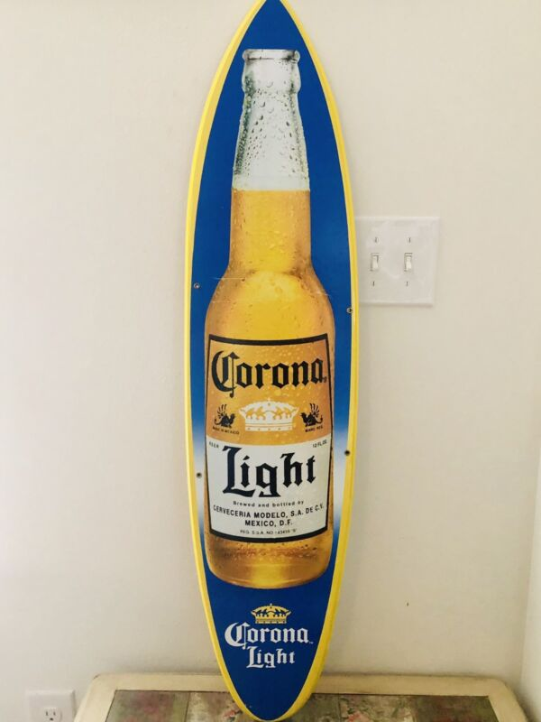 Corona Surfboard Barsign