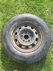 Dodge Ram spare tire