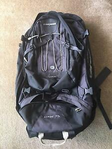 Caribee Lynx 75 Travel backpack Richmond Yarra Area Preview