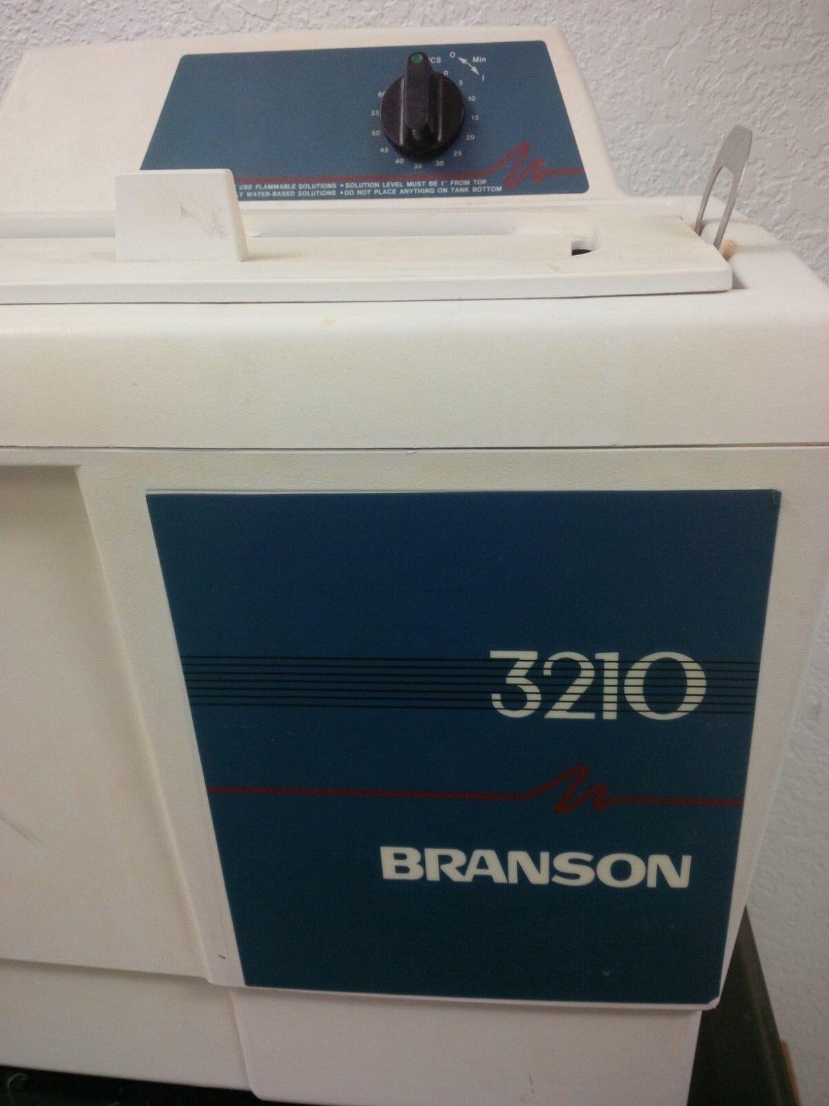 Branson 3210 Ultrasonic Cleaner MIAMI 1