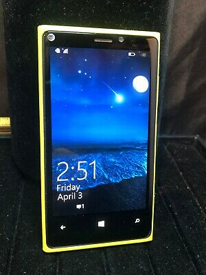Nokia Lumia 920 - 32GB - Yellow (AT&T) Smartphone