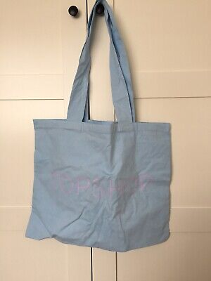 Topshop x Kendall And Kylie Jenner Tote Bag Baby Blue And Lilac