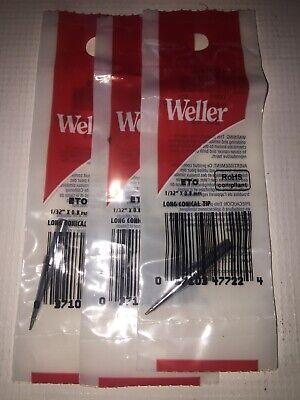 3x Original Weller Eto Solder Soldering Tip Fits Stations Wes51 Wesd51