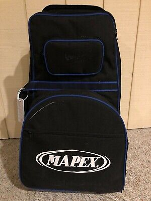Mapex MK1432DP snare/bell combo set with rolling bag