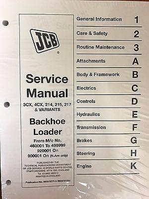 Jcb Service 3cx 4cx 214 214e 215 217 Manual 3