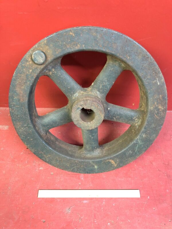 "16"" 85 Pund Cast Iron Flywheel for Hit & Miss, One Lunger Engine"