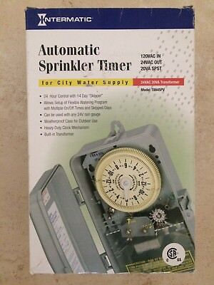 Intermatic Automatic Mechanical Sprinkler Timer - City Water Supply T8845PV