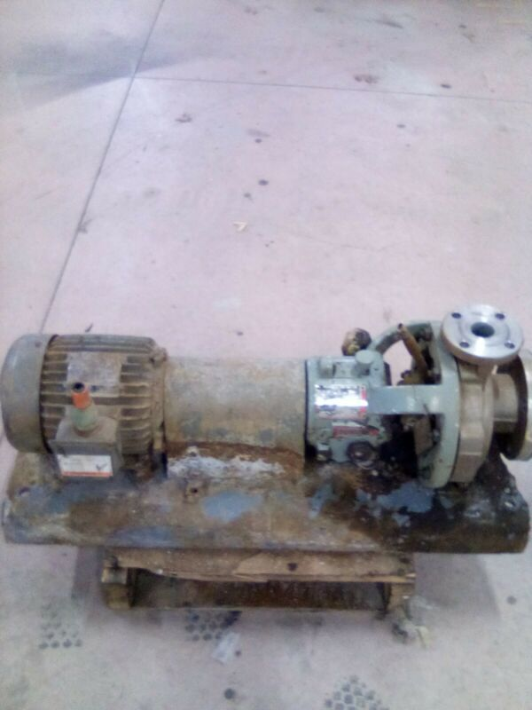 Flowserve Pump 1k3X1.5-62rv57 Westinghouse Duty Motor ~ 2hp