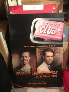 Fight Club Poster Plaque board $25