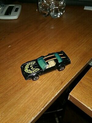 MATTEL HOT WHEELS 1977 HOT BIRD PONTIAC TRANS AM Black HONG KONG VINTAGE
