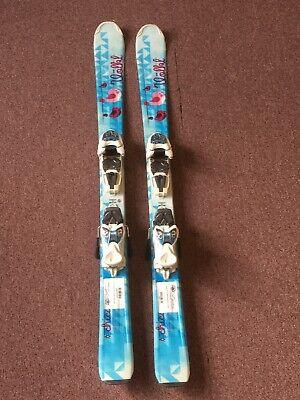 110 Cm Volkl Chica Junior Girl Skis w/ Marker 4.5 vMotion JR Bindings Volkl Girls Ski