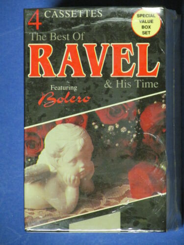 Best Of Ravel & His Time Set Of 4 Cassettes New Sealed