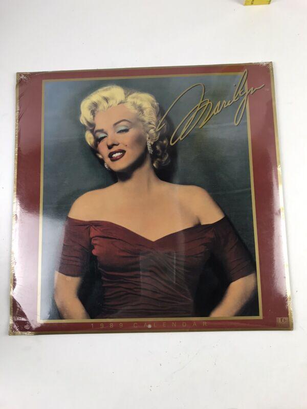 Marilyn Monroe 1989 Landmark Calendar (Sealed) NOS