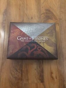 Mint First Season Game of Thrones Collector's Edition
