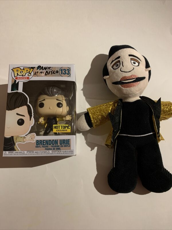Brendon Urie Panic! at the Disco Plush & Pop Funko - Pray For The Wicked Tour