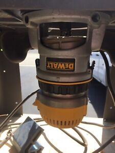 Dewalt Router and Router Table