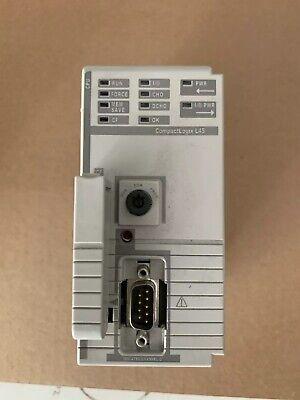 Allen Bradley 1768-l45 Compactlogix Processor Logix5345 Series B Fw 1.06
