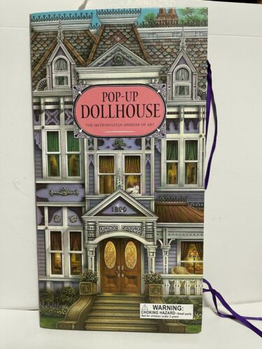Vintage 1998 Paper Doll House Pop Up (missing dolls) Metropolitan Museum of Art