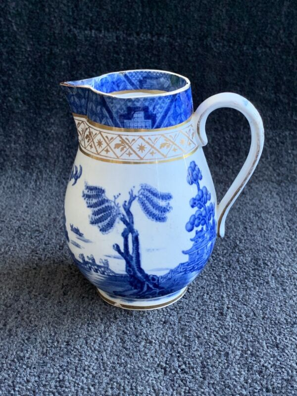 Booths Real Old Willow Pitcher / Creamer