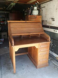 Antique desk - American Oak