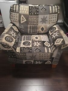 Large Accent Chair with Free Cushions